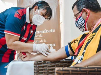 Positiva respuesta a campaña de donación de sangre