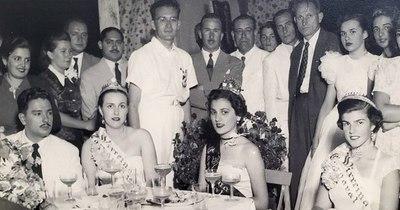 """La Nación / """"Maruja"""", la reina del pueblo 1949"""