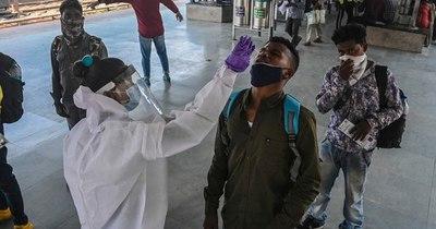 La Nación / El coronavirus se ensaña con los jóvenes en India, confrontada a una explosión de casos