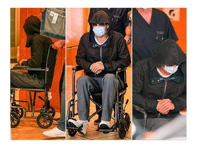Brad Pitt quebranta por aparecer en silla de ruedas