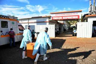 Itaipu entrega alimentos para pacientes y personal de blanco del Pabellón de Contingencia