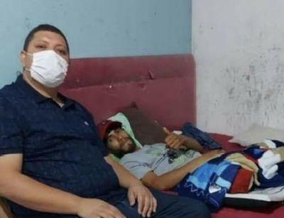 Joven quien perdió su pierna en accidente tendrá su prótesis atraves del Diputado Juancho Acosta