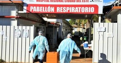 La Nación / CDE: planean entregar alimentos a pacientes y personal de blanco por dos meses