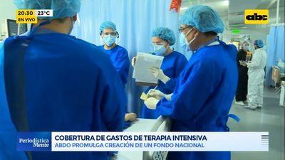 Abdo promulga de Ley de cobertura de gastos de terapia intensiva