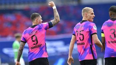 Con gol de Icardi, PSG ganó sobre el final y quedó a un punto del líder Lille