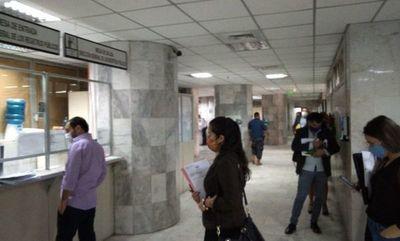 Hoy se suspenden actividades en juzgados debido a averías en edificio del Poder Judicial