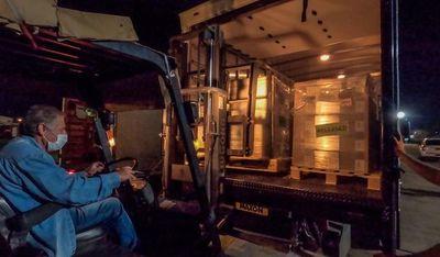 Llega segundo lote de insumos donados por EE.UU. y medicamentos se distribuirán en Central