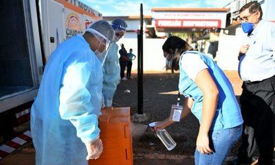 Entregan alimentos para pacientes y personal de blanco del Pabellón de Contingencia de CDE – Diario TNPRESS