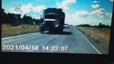Milagro en la Ruta Transchaco rumbo a Loma Plata