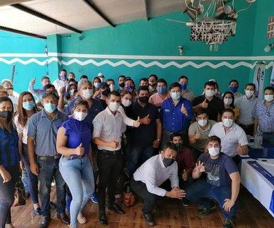 Buzarquis se reúne con liberales en Alto Paraná