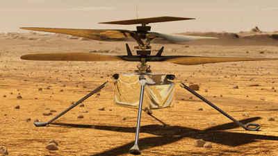 El helicóptero de la NASA en Marte completa su primer vuelo – Prensa 5
