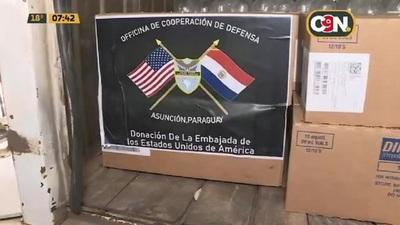 COVID-19: Estados Unidos realiza importante donación de medicamentos al Paraguay