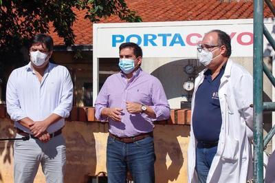 Gobernación amplía sistema de oxígeno en hospitales de Paraguarí