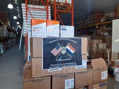 Paraguay recibe totalidad de medicamentos contra COVID-19 donados por Estados Unidos