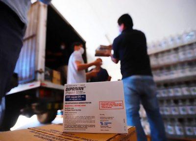 Paraguay recibe medicamentos e insumos donados por Estados Unidos