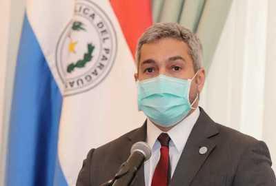 Mario Abdo da negativo a prueba del Coronavirus