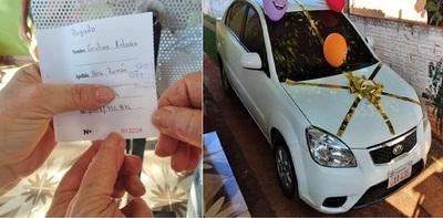 Participó de una rifa para ayudar a una persona con COVID, se ganó un auto y lo devolvió: 'Mi intención solo fue colaborar'