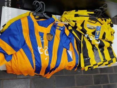 Fiscalía a la caza de falsificadores de prendas deportivas de la marca Kyrios