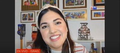"""""""La emoción de volver a ver caras"""": Paraguaya cuenta su experiencia en Israel"""