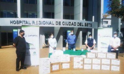Realizan donación a hospital Integrado