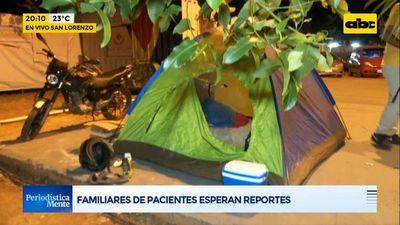 Hospital de Calle'i de San Lorenzo, con falta de medicamentos y de camas UTI