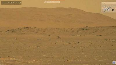 Ingenuity hace historia al volar en Marte