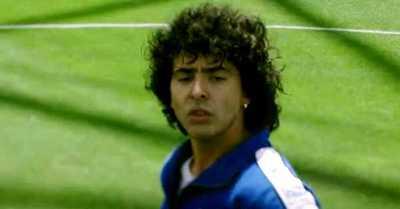 Revelan primer adelanto de la serie basada en la vida de Diego Maradona