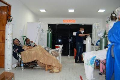 COVID-19: En Villa Elisa, hasta la pediatría se convirtió en sala para pacientes adultos