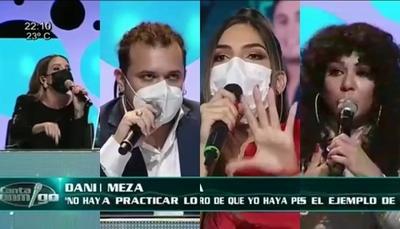 A los gritos, Dani, Anna y Techy enfrentaron a Nati Sosa Jovellanos