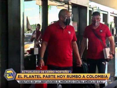 Cerro Porteño viaja a Colombia para su debut en la Libertadores