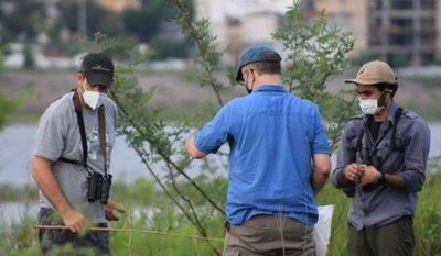 Obra del MOPC implementa monitoreo de aves migratorias en el Chaco