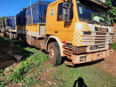 Siguen los robos de camiones de soja y ordeño de combustible