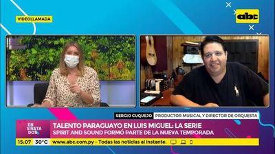 Talento paraguayo en Luis Miguel: la serie