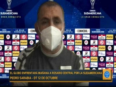 Pedro Sarabia palpita la cita del 12 de Octubre ante Rosario Central