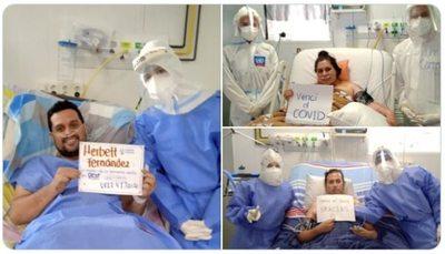Tres médicos fueron dados de alta tras pasar por terapia intensiva