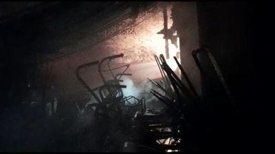Se incendia un depósito de carritos en el Asunción Golf Club