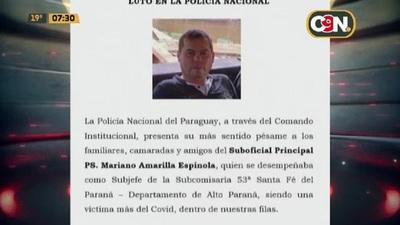 Subjefe de comisaría falleció por covid-19 en una ambulancia