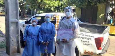 SEN continúa apoyando con la logística a hospitales públicos del país