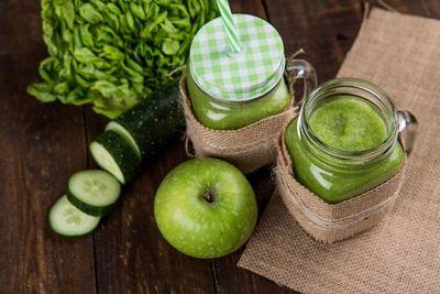 Prepará este batido de vegetales para hacer feliz a tu cuerpo