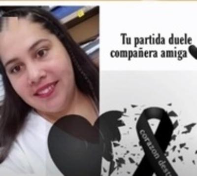 Fallece otra heroína de blanco por covid-19: Estaba embarazada