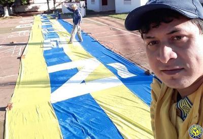 Bendecirán bandera de 100 metros por el Centenario del S. Luqueño •