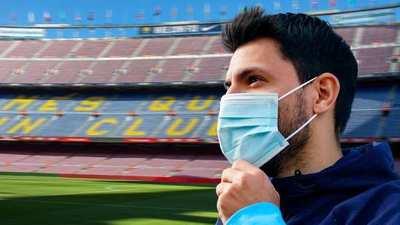 Kun Agüero, muy cerca de convertirse en jugador del Barça
