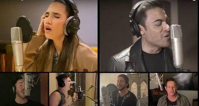 """Bisbal, Lerner, Pausini, Brian May y otros artistas evocan a la esperanza con el """"Himno a la alegría"""""""