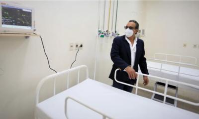 Gobernación de Central prevé entregar casi 60 camas para pacientes respiratorios