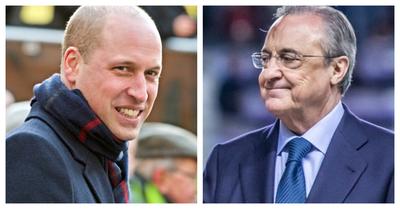 El príncipe William contra Florentino: el duque de Cambridge también criticó la creación de la Superliga europea