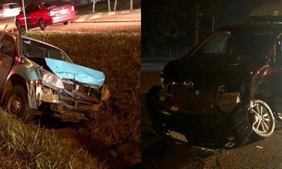Integrantes de Raza Nuestra se salvan de milagro en aparatoso accidente que involucró a móvil de ANDE