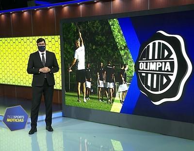 Novedad en Olimpia para el estreno en Copa Libertadores