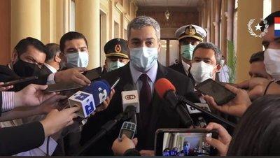 Mario Abdo anuncia llegada de 234.000 vacunas anti-COVID para la próxima semana
