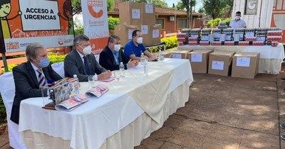 La Nación / Argentina dona medicamentos a Encarnación