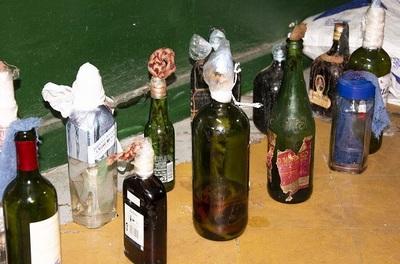 Incautan bombas molotov en requisa en Tacumbú